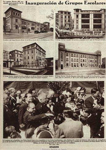 amador_de_los_rios_inauguracion1933. Biblioteca Nacional.